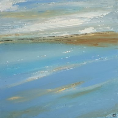 Buy Cornish Art Marielle Cornish Seacape Land In Sight Gallerie