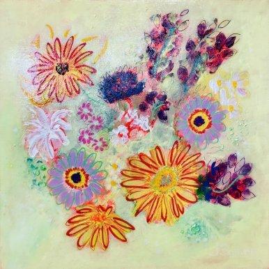 Buy Cornish Art Jo Salmon Cornflower Bouquet