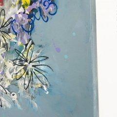 Buy Cornish Art Jo Salmon Flower Riot Side