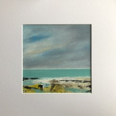 Buy Cornish Art Maggie Cochran Cornish Seas 4 Mounted