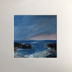 Buy Cornish Art Maggie Cochran Evening Glow Mounted