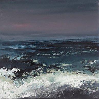 Buy Cornish Art Christine Brunnock Velvet G