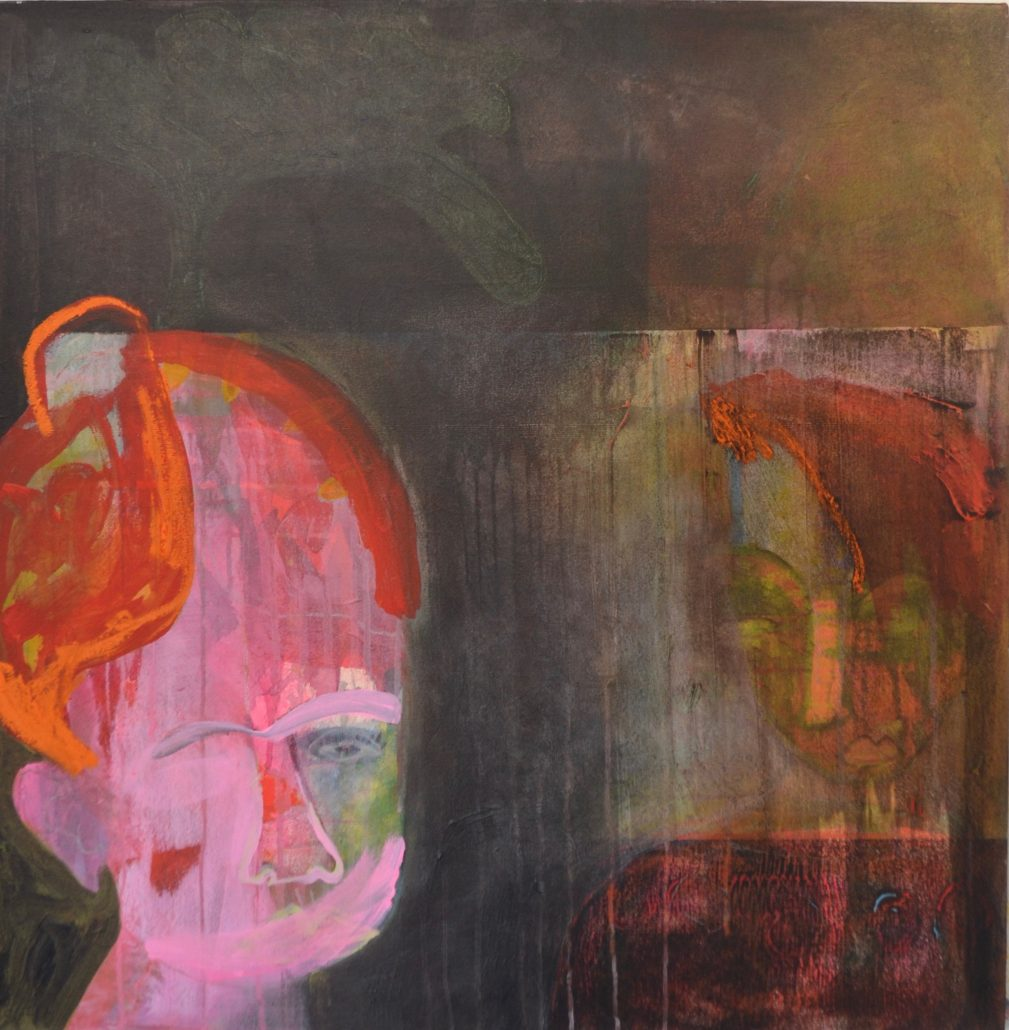 Melanie Young - Silence - Canvas Acrylic - Large