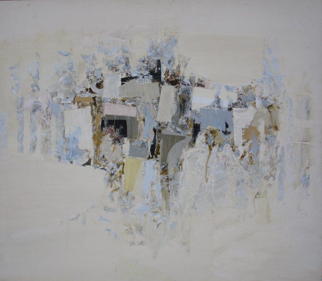 Paul Armitage - Carn Side Houses - Oil Canvas - 104cm x 115cm - Cornish Galleries