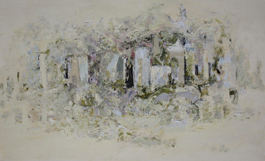 Paul Armitage - Church Town - Oil Canvas - 60cm x 93cm - Cornish Galleries