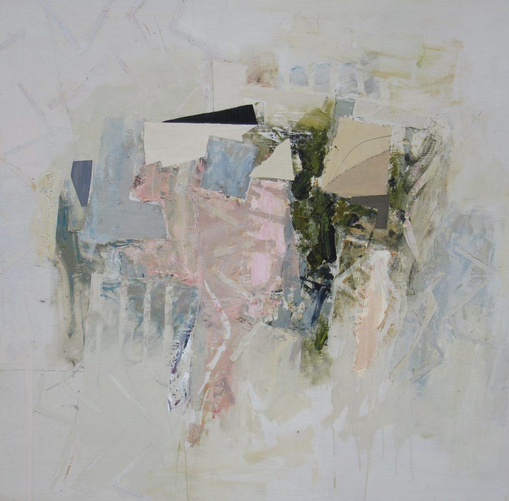 Paul Armitage - Dawn Reeth - Oil Canvas - 92cm x 92cm - Cornish Galleries