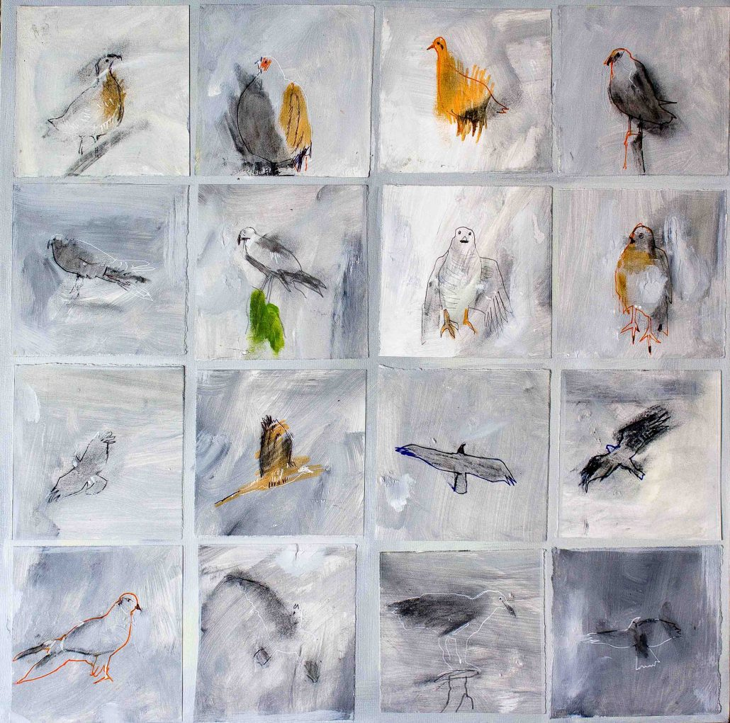 Roy Goodman - Birds - Acrylic - Large