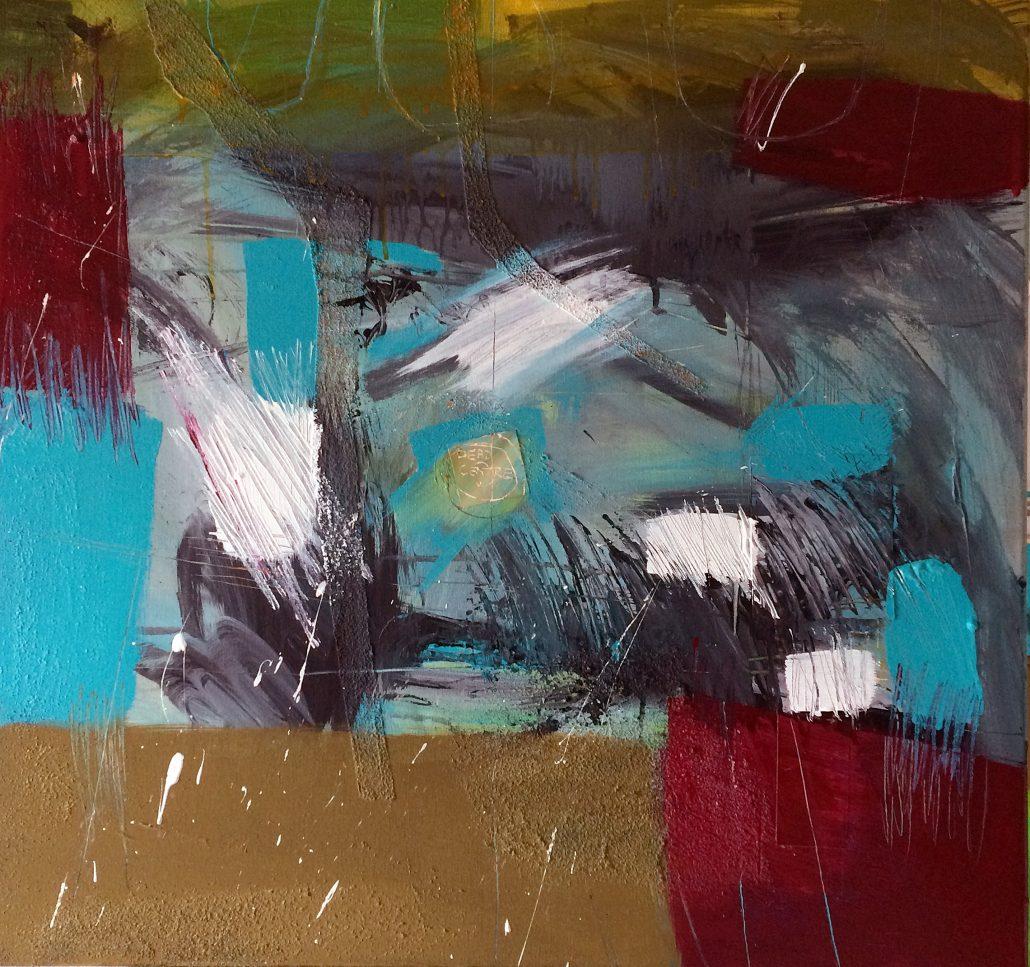 Roy Goodman - Dead Centre - Acrylic - Large