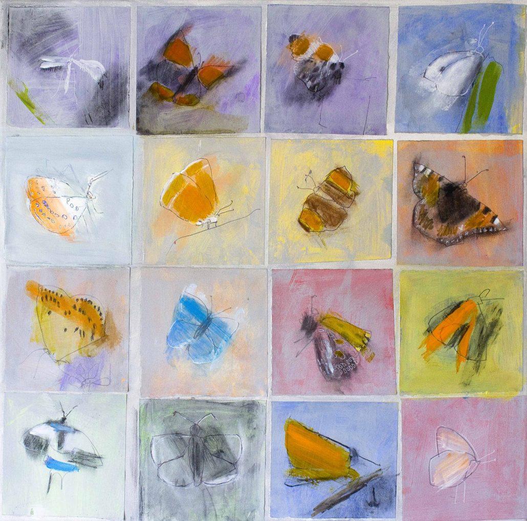 Roy Goodman - Flutter Bys - Acrylic - Large