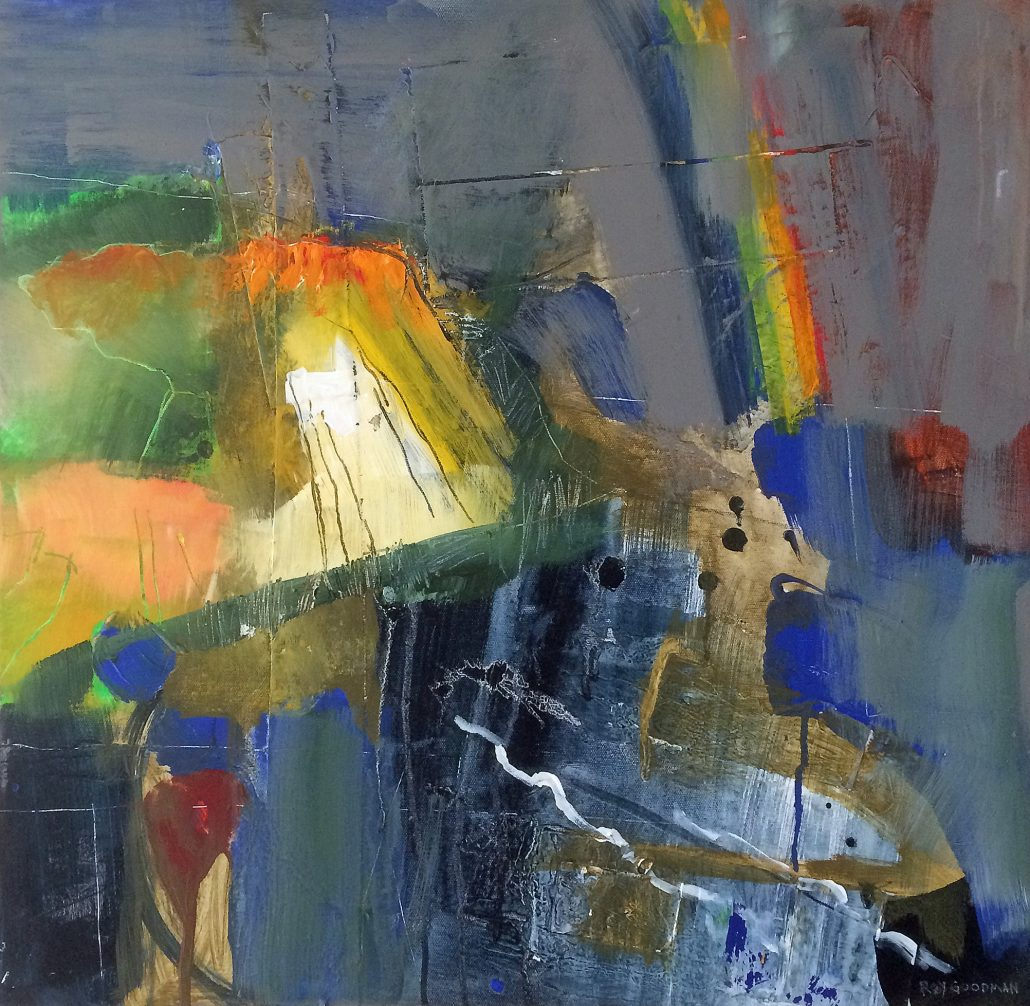 Roy Goodman - Rainbow Over Charlestown - Acrylic - Large