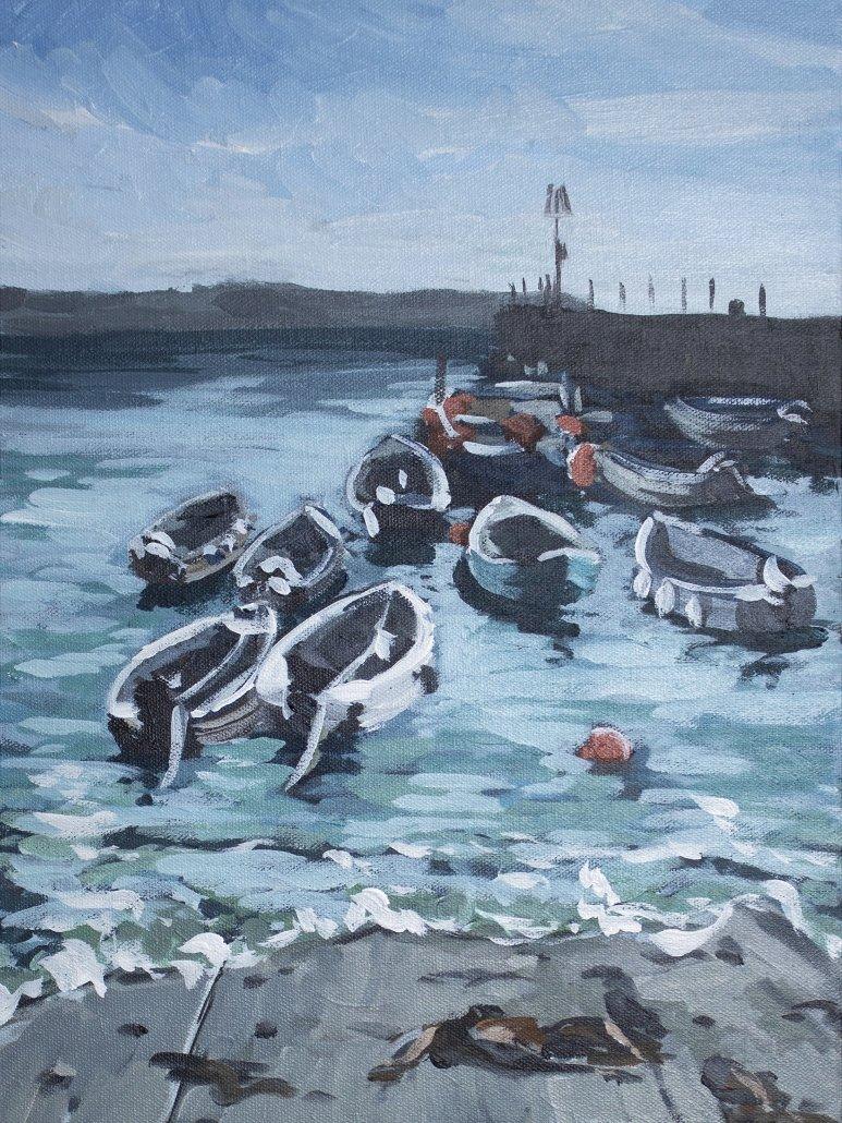 Roz Andain Portscatho Harbour