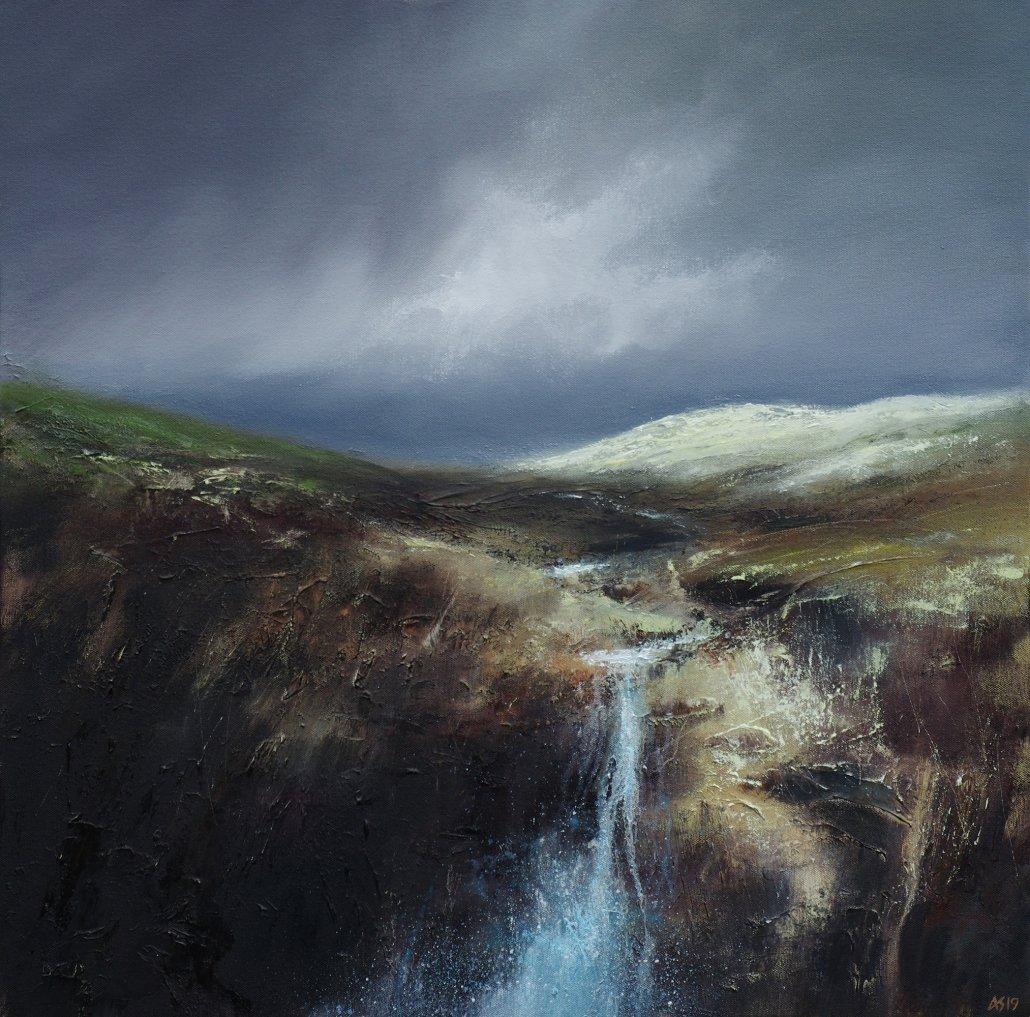 Buy Cornish Art Alan Stratford Moorland Stream