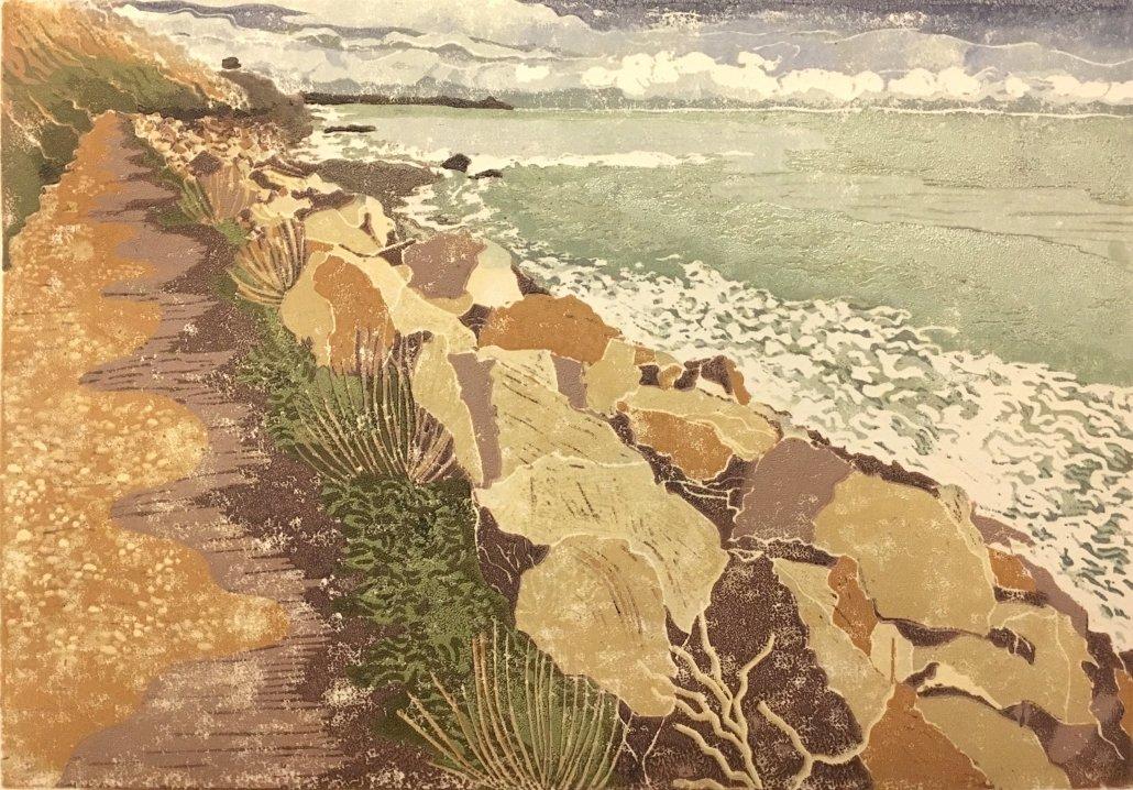 Buy Cornish Art Beth Monro Seaton To Downderry