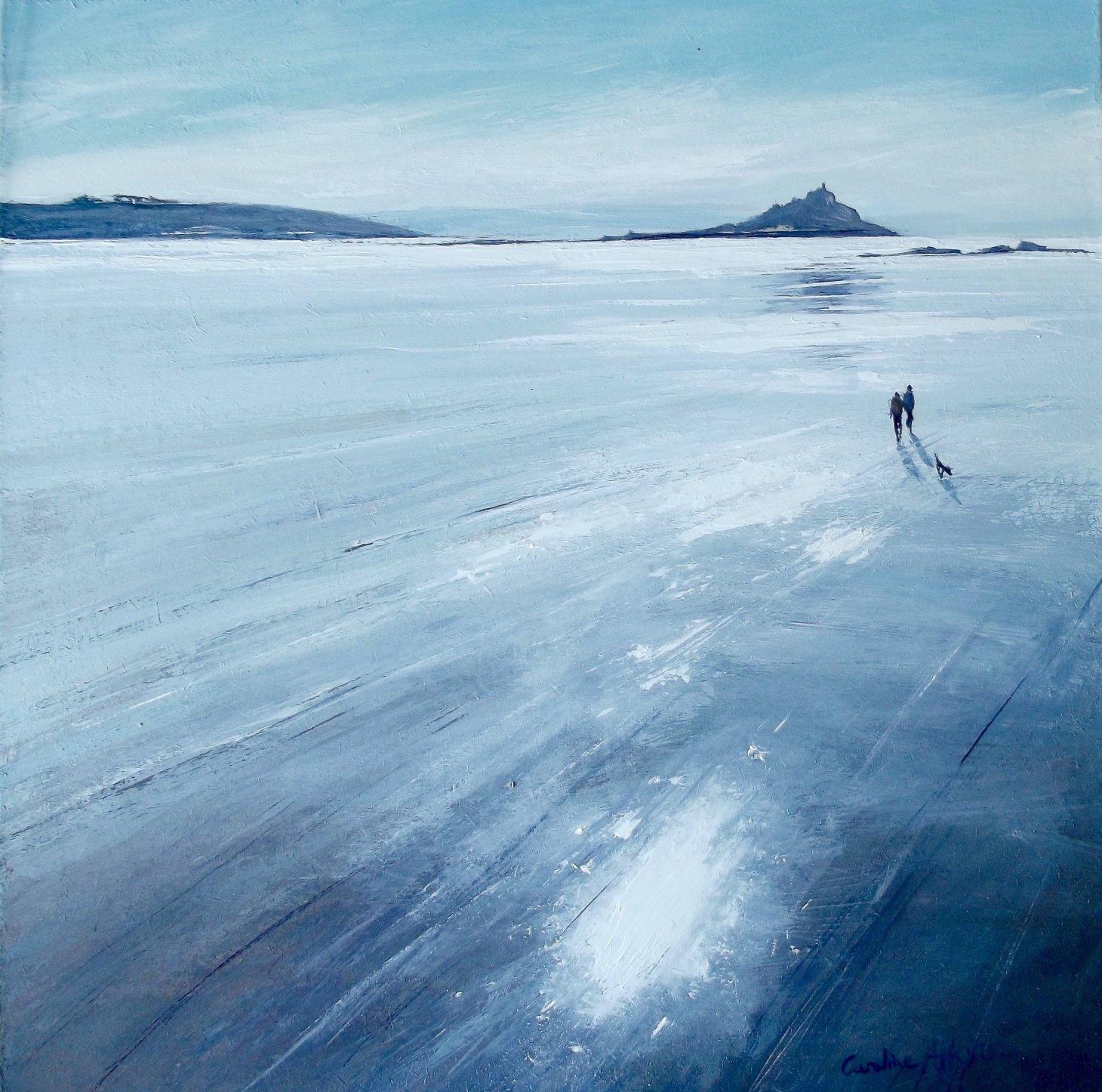 Buy Cornish Art Carolne Atkinson Silver Sands