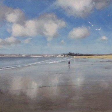 Buy Cornish Art Carolne Atkinson The Red Coat
