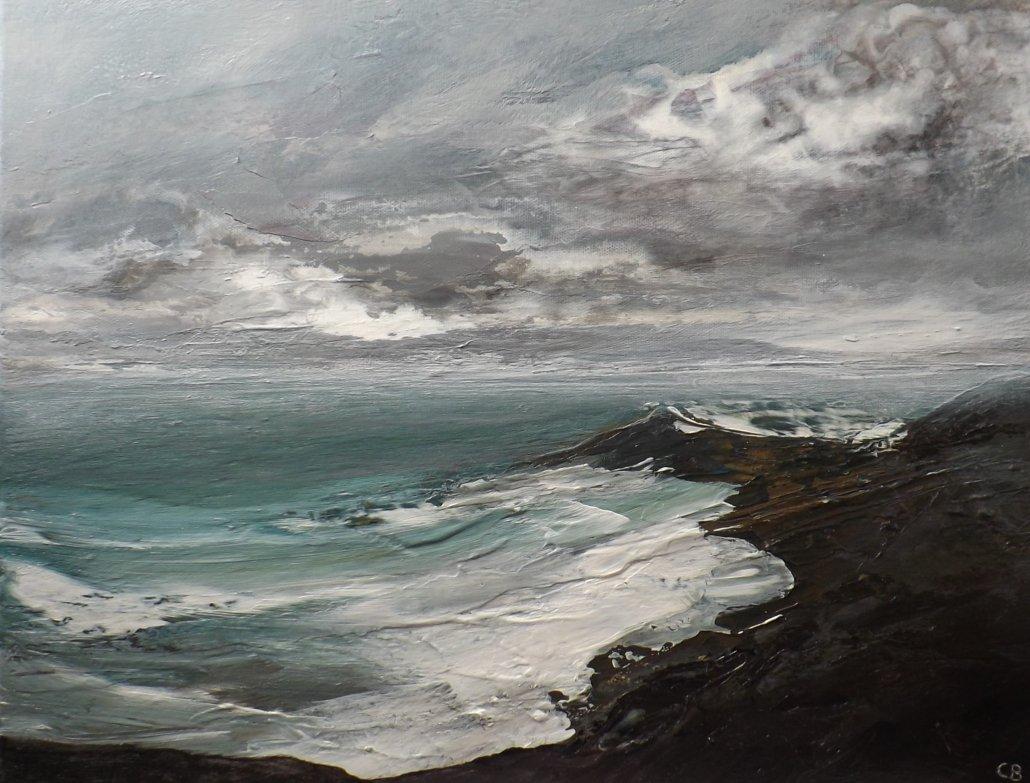 Buy Cornish Art Christine Brunnock Cloud Building