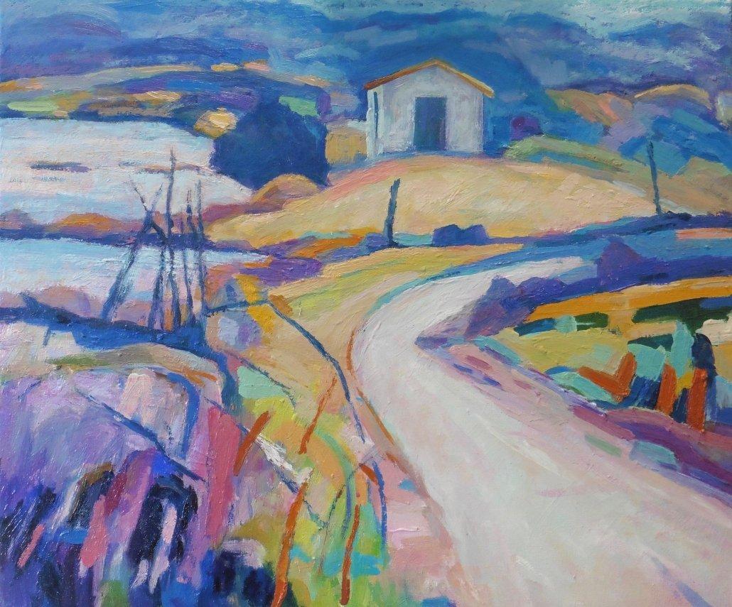 Buy Cornish Art Jim Carey Track Through Marshland