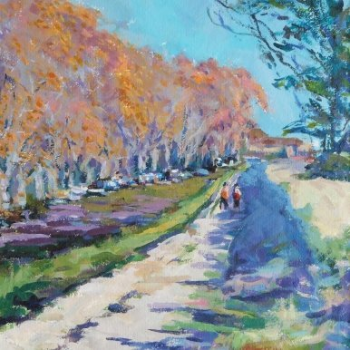 Buy Cornish Art Jim Carey Walk Along The Canal