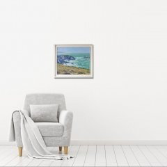 Buy Cornish Art Jim Carey Winter Swell Godrevy In Situ