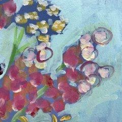 Buy Cornish Art Jo Salmon Bevs Jug Detail