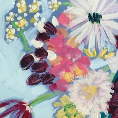Buy Cornish Art Jo Salmon Bevs Jug Detail 2