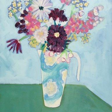 Buy Cornish Art Jo Salmon Bevs Jug Primary