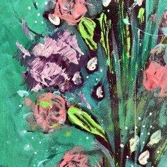 Buy Cornish Art Jo Salmon Floral Explosion