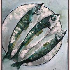 Buy Cornish Art Jo Salmon Mackerel 6