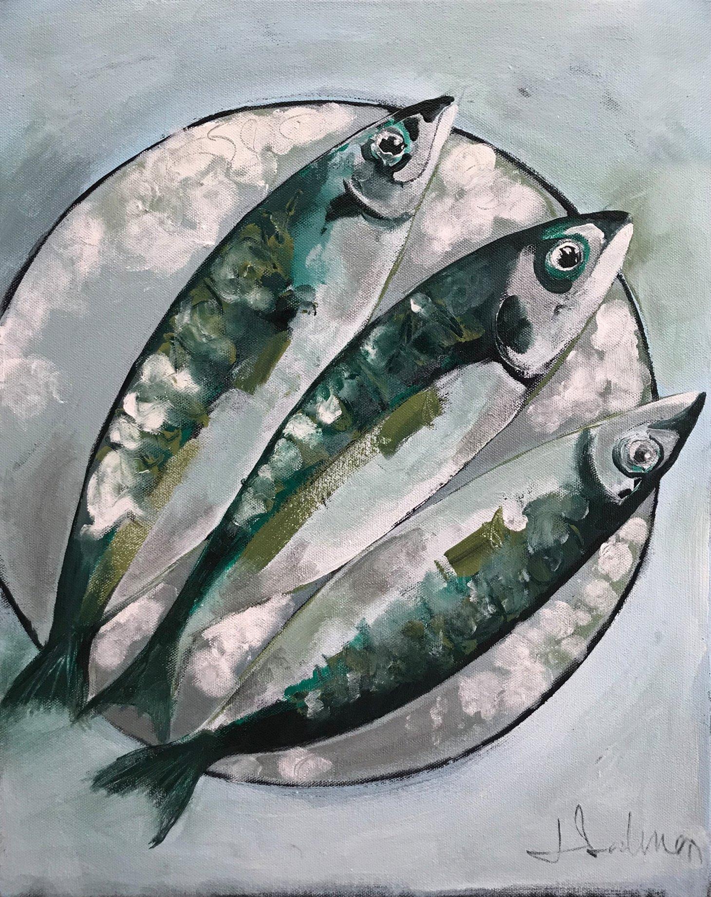 Buy Cornish Art Jo Salmon Mackerel 65