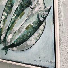 Buy Cornish Art Jo Salmon Mackerel Side