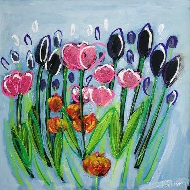 Buy Cornish Art Jo Salmon Spring Sensation