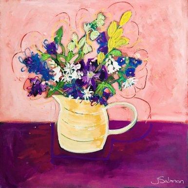 Buy Cornish Art Jo Salmon Spring Sensation Main