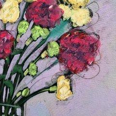 Buy Cornish Art Jo Salmon Valentine Bouquet Close Up
