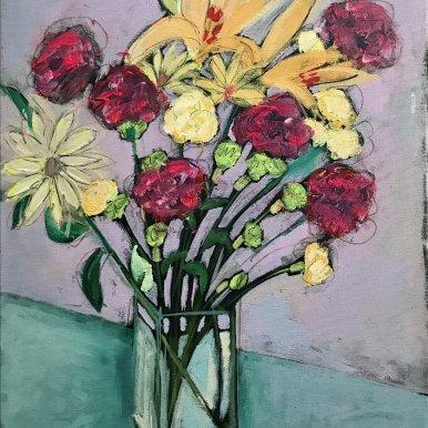 Buy Cornish Art Jo Salmon Valentine Bouquet Primary