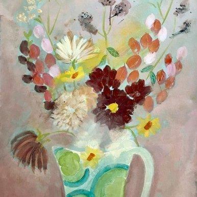 Buy Cornish Art Jo Salmon Farm Shop Flowers Main