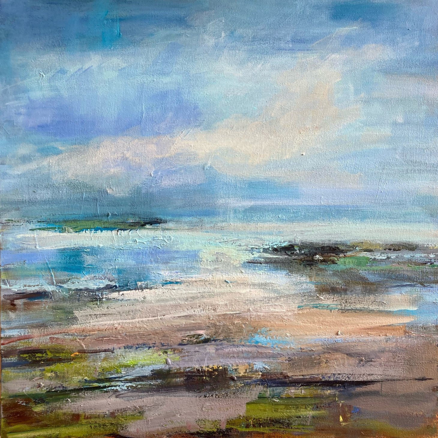 Buy Cornish Art Joanna Commings Out Going Tide