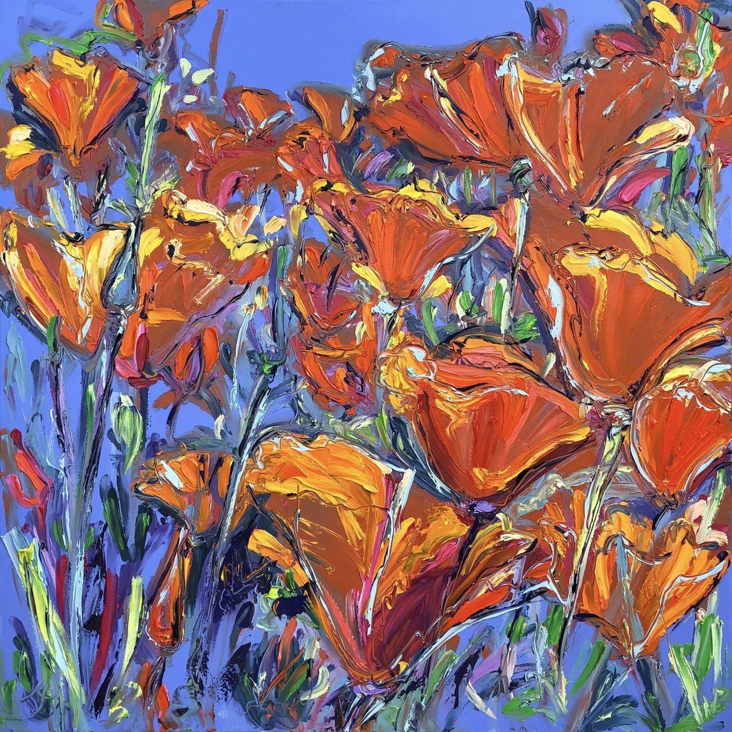 Buy Cornish Art Joe Armstrong California Poppies