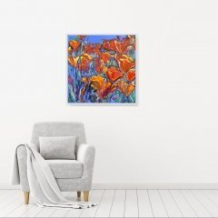 Buy Cornish Art Joe Armstrong California Poppies In Situ