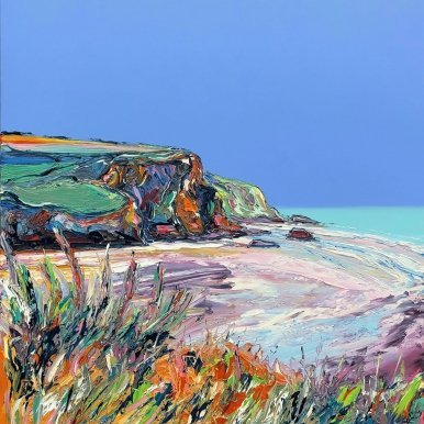 Buy Cornish Art Joe Armstrong Dancin Hedgerow Mawgan Porth