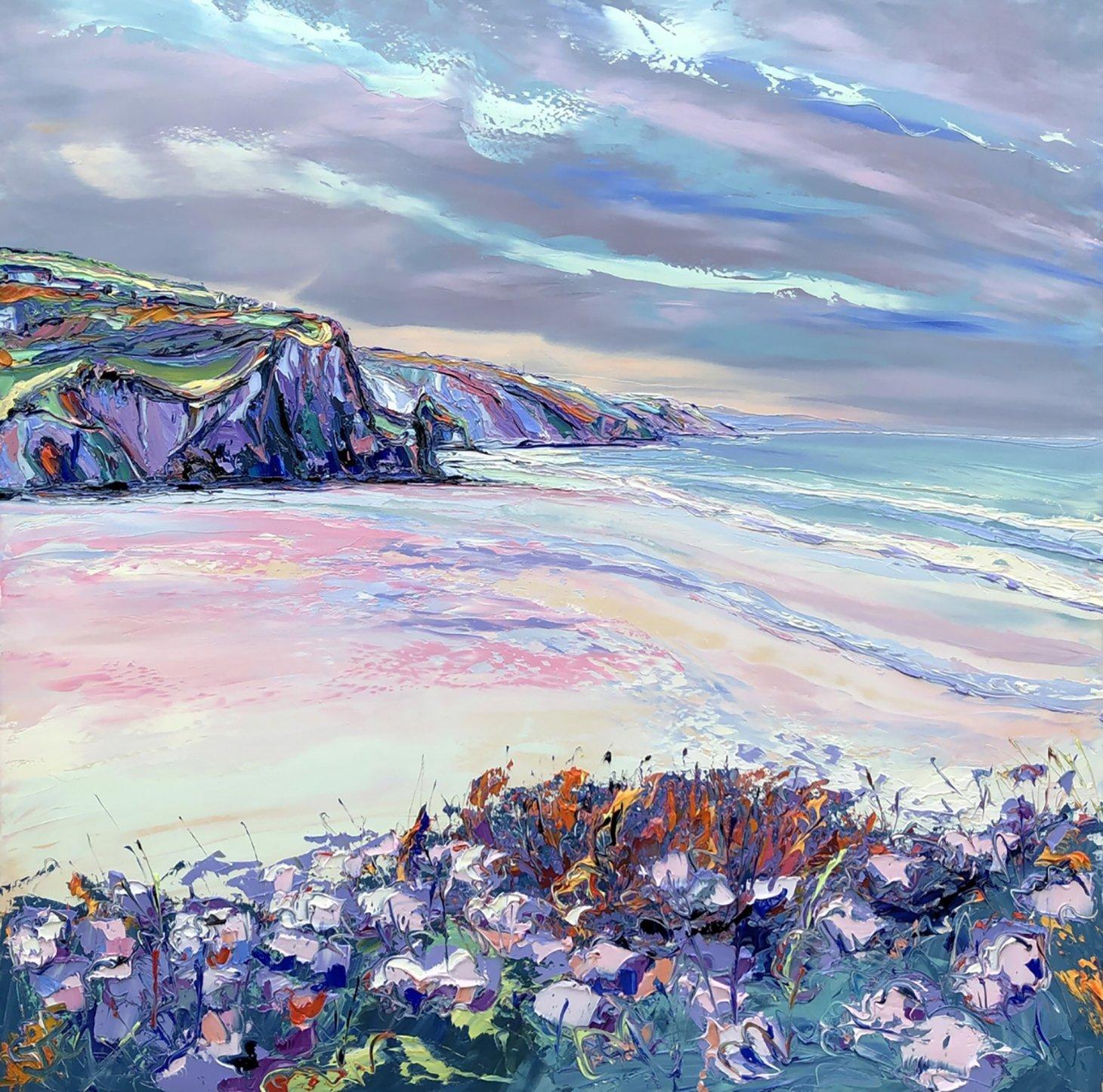 Buy Cornish Art Joe Armstrong Porthtowan Heather