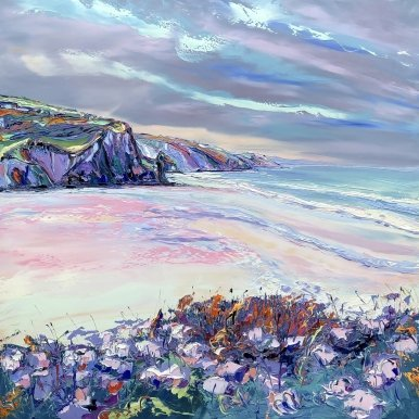Buy Cornish Art Joe Armstrong Porthtowan Heather