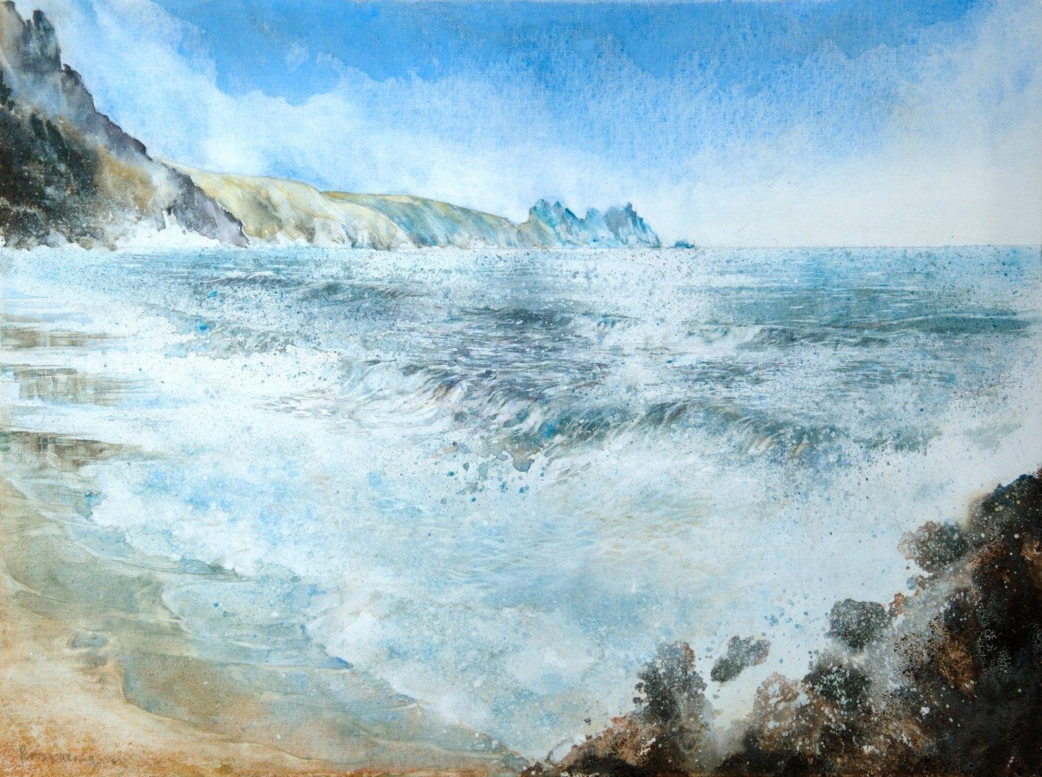 Buy Cornish Art John Forward Porthcurno Primary