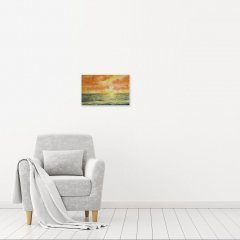 Buy Cornish Art John Forward Another Golden Sunset In Situ
