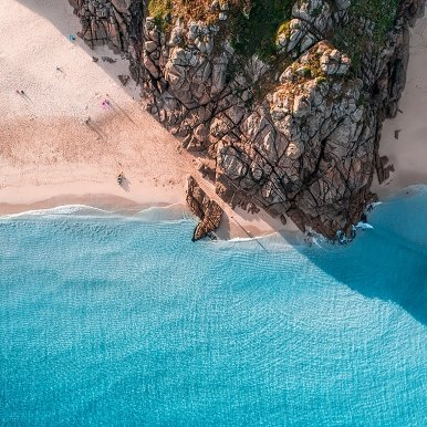 Buy Cornish Art Kernow From Above Porthcurno