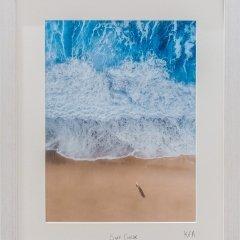 Buy Cornish Art Kernow From Above Surf Check Framed