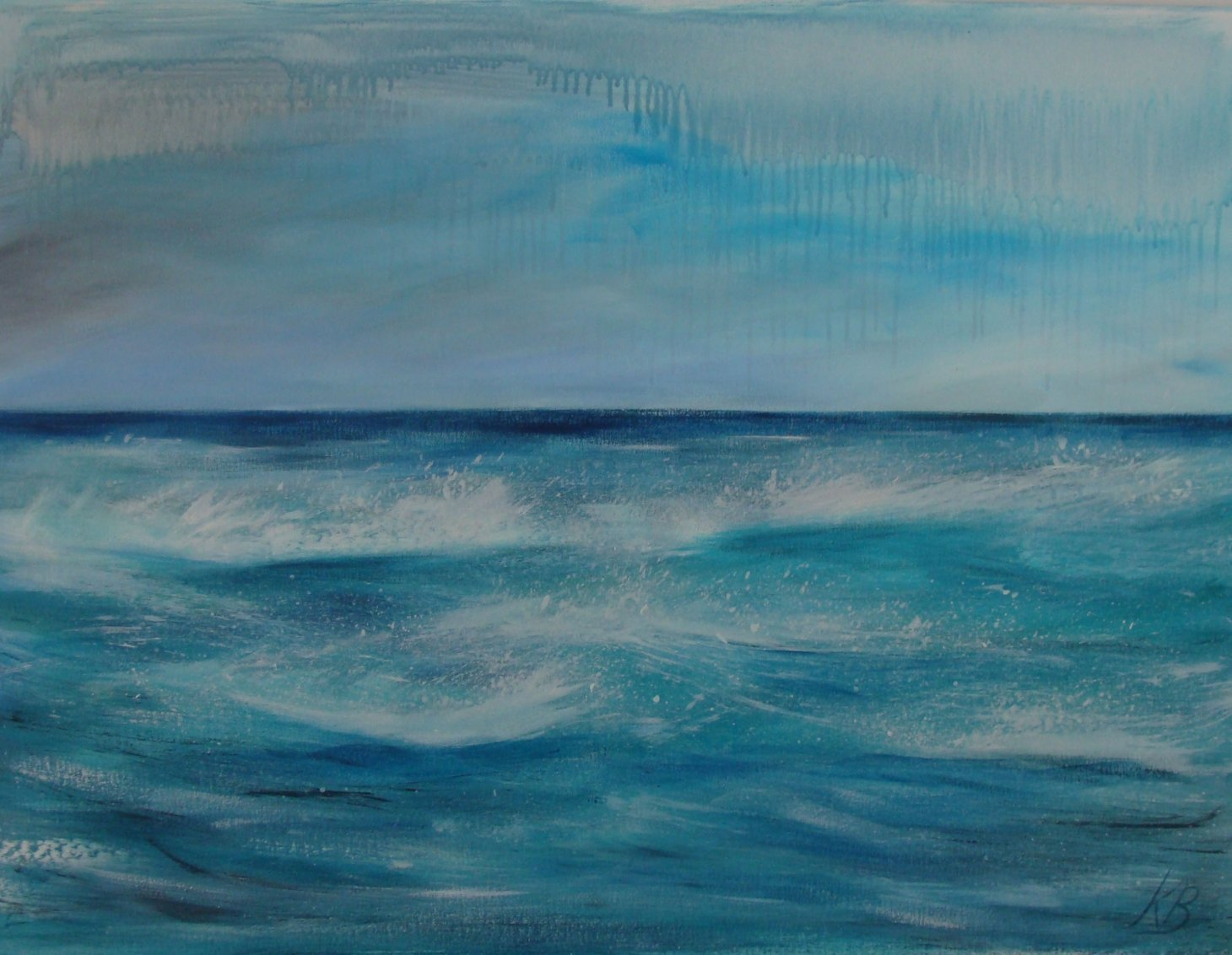 Buy Cornish Art Kerry Bletso Winter Blues Primary