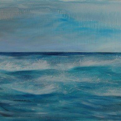 Buy Cornish Art Kerry Bletso Winter Blues Primary