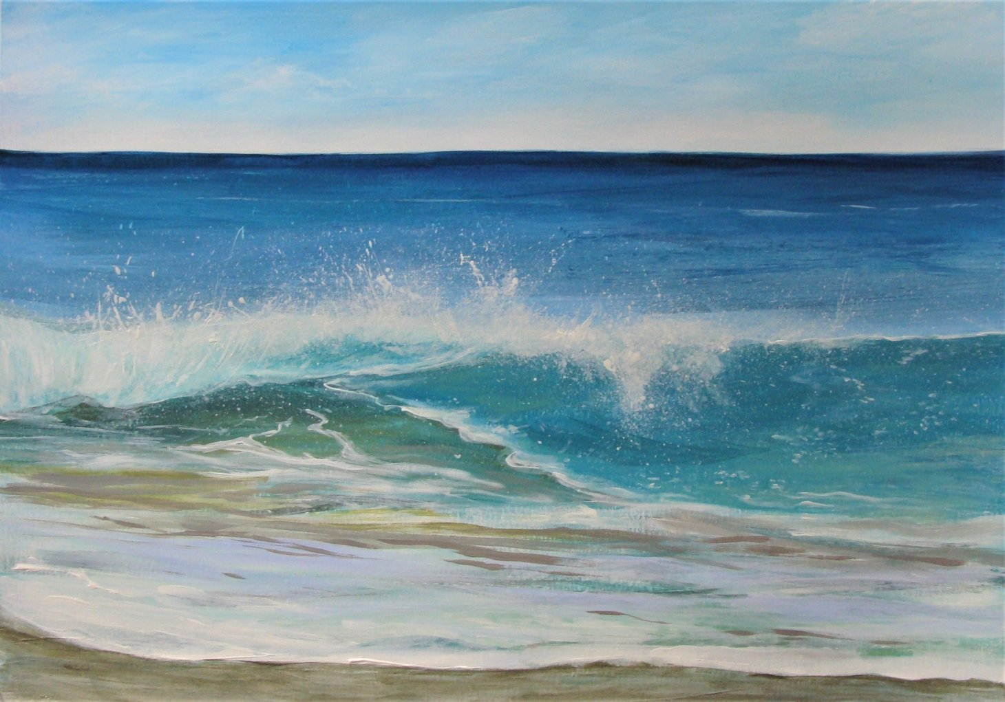 Buy Cornish Art Kerry Bletso Wave Watching Primary.jpg