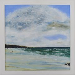 Buy Cornish Art Phil Ford Clouds Over Constantine Bay Frame