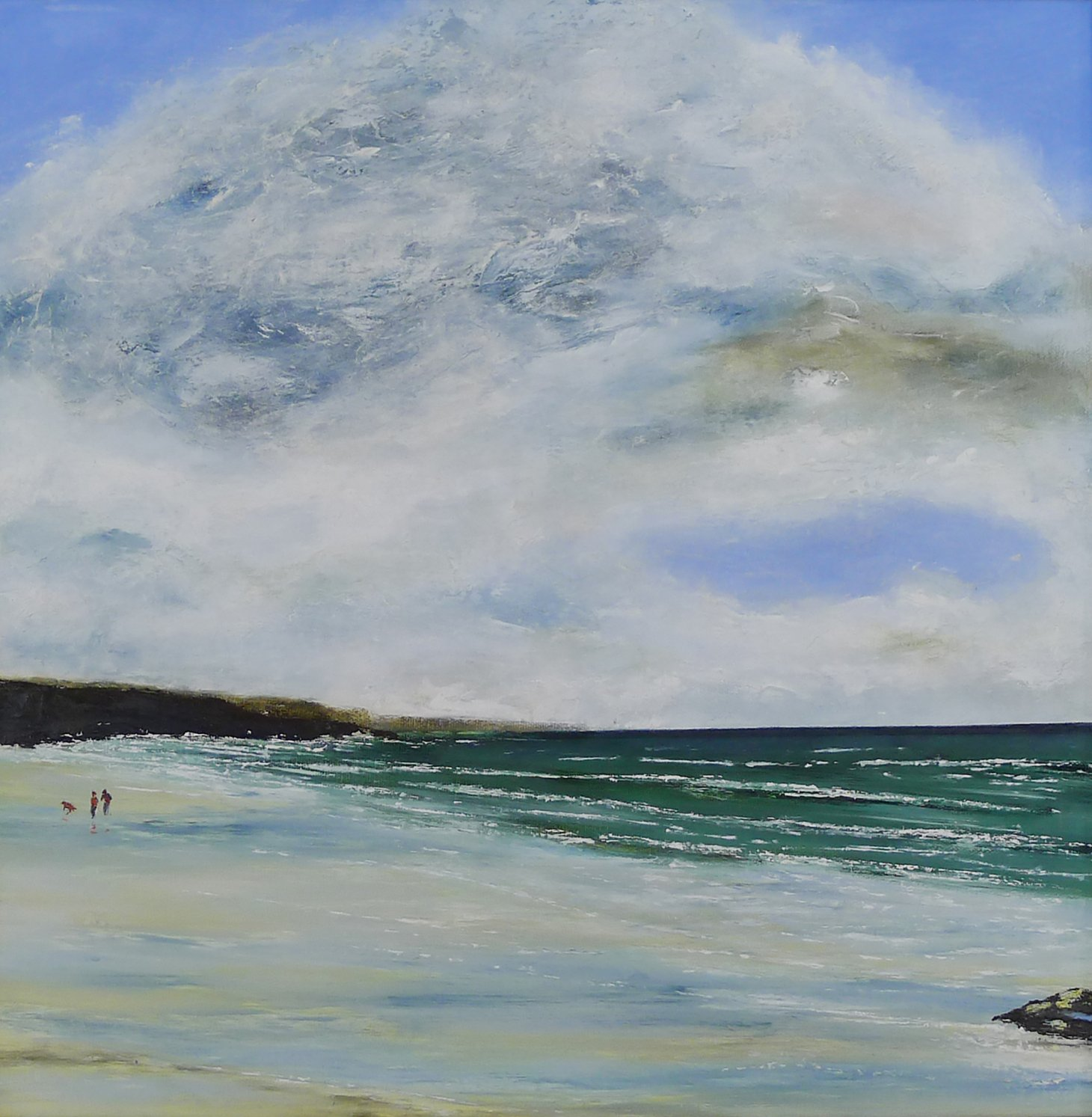 Buy Cornish Art Phil Ford Clouds Over Constantine Bay Main Frame